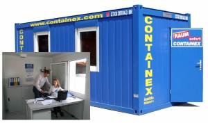 20 футовый офисный контейнер